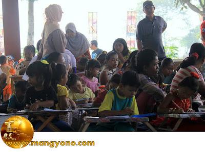 FOTO : Lomba mewarnai gambar Sisingaan bagi kalangan anak PAUD