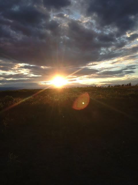 Kuopio auringonlasku kuva