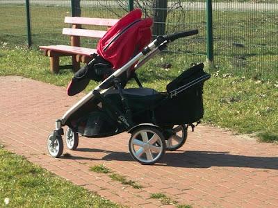 Wózek Britax B-dual spacerówka i drugie siedzisko z miękką gondolą. Rok po roku