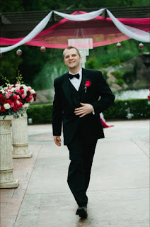 Ryan is dressed and ready to go - Posted by Patricia Stimac, Seattle Wedding Officiant