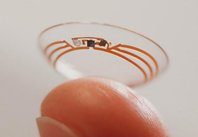 camara google en lentes de contacto