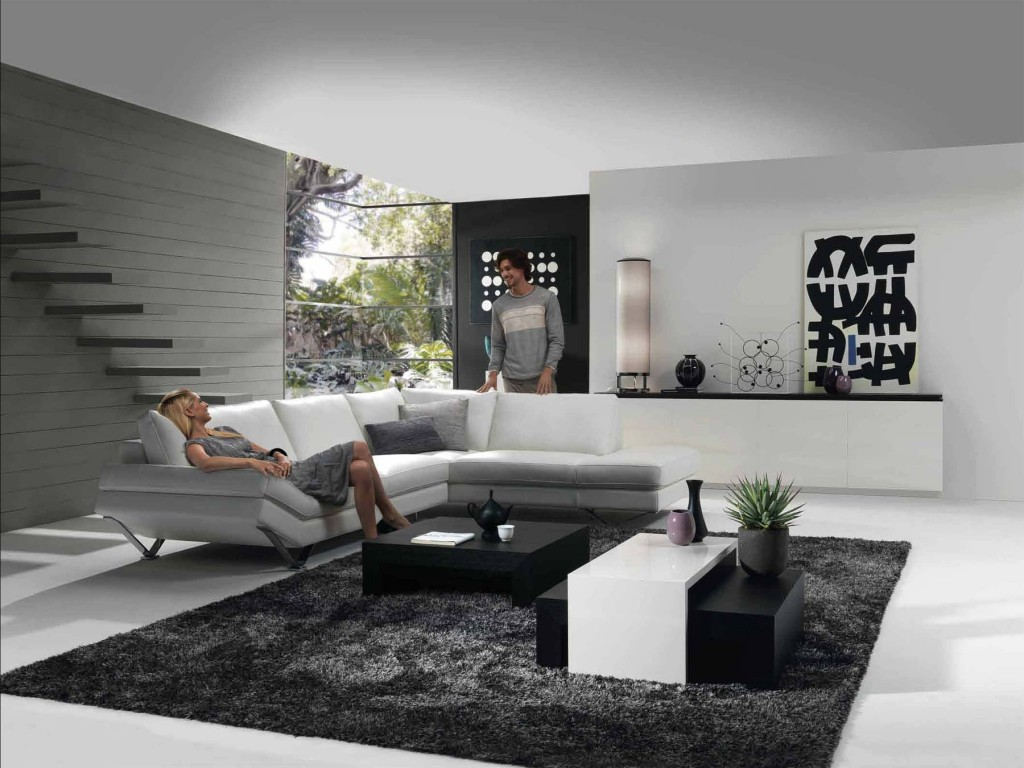 Modern tv lounge home ideas for Modern lounge room designs