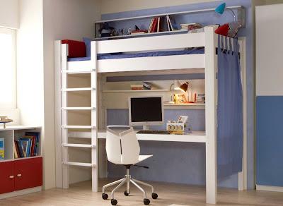 Lit mezzanine en fer pour un lit durable lit mezzanine 2 places info - Lit mezzanine pas cher ...