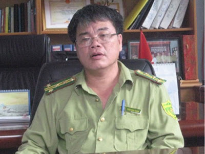 Ông Trần Văn Thành - nguyên Giám đốc Vườn quốc gia Cát Tiên
