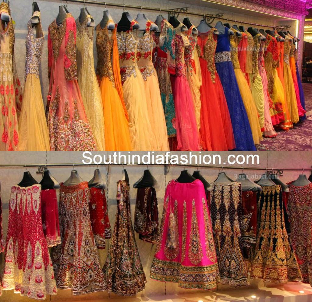 kashish bridal half sarees