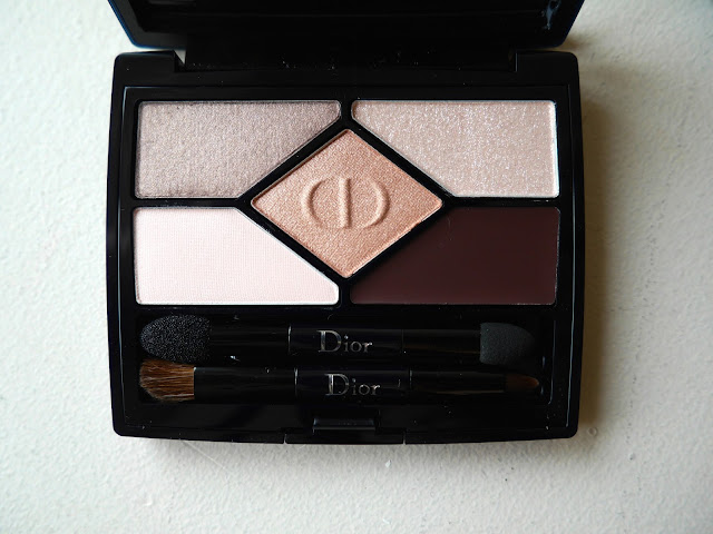 Dior 5 Couleurs Designer 508 Nude Pink Design swatch review