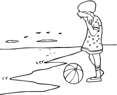 Niños tristes para dibujar - Imagui