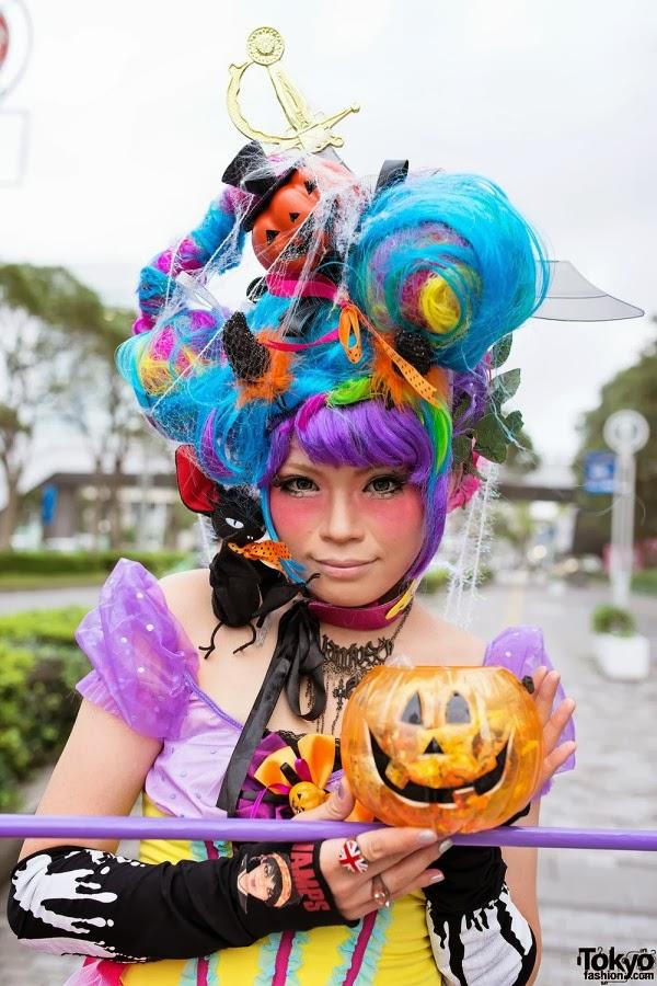 Japanese Halloween wig