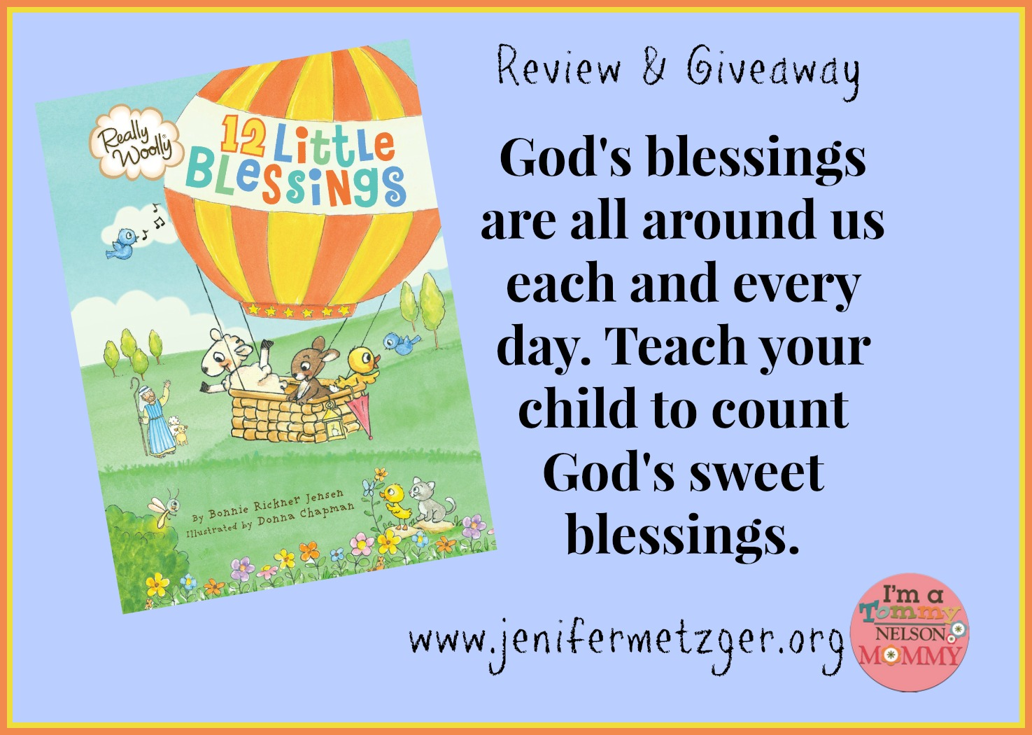 Count God's sweet #blessings with your #children.