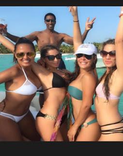 Larsa Pippen en Republica Dominicana