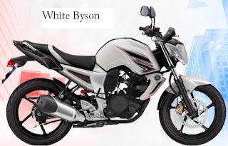 Yamaha Byson white