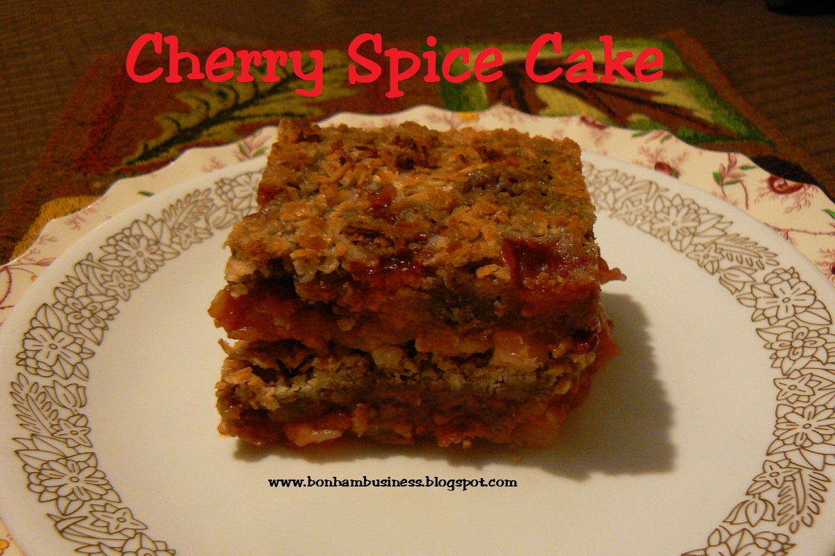 recipe: cherry spice cake [21]