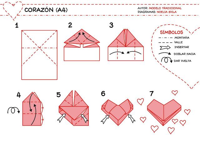 Оригами из бумаги объемное сердце из бумаги своими руками 100