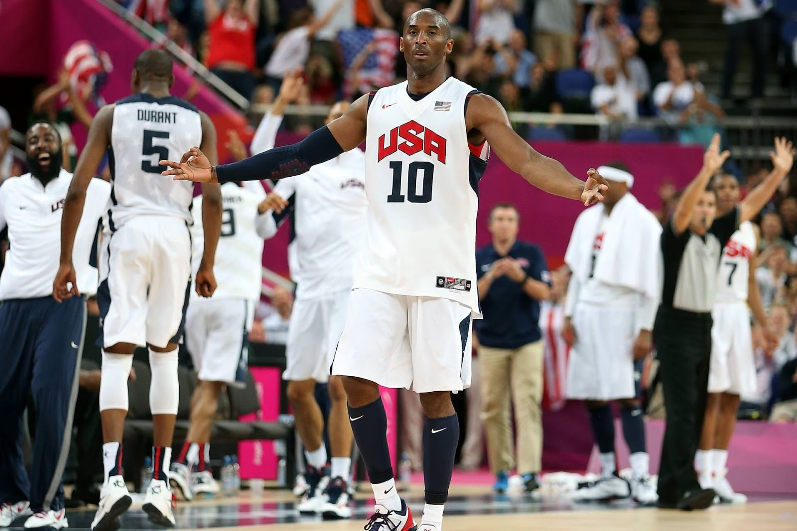 Kobe Bryant 2012 London Olympics