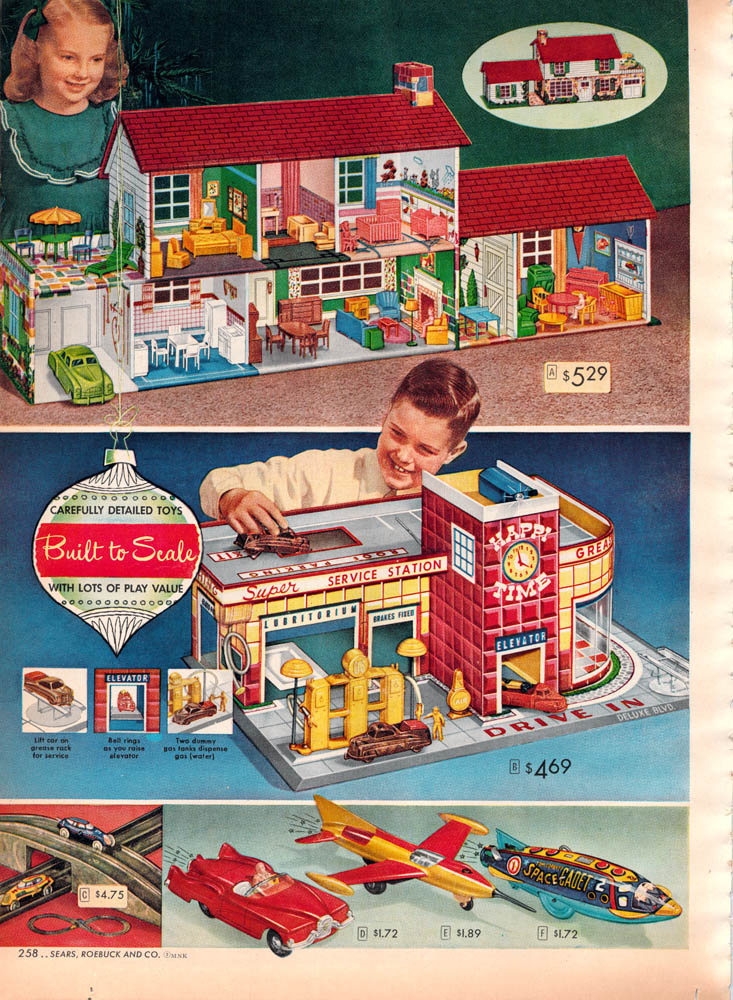 Toys For Girls In 1950 : Old soul retro times christmas toys of the s