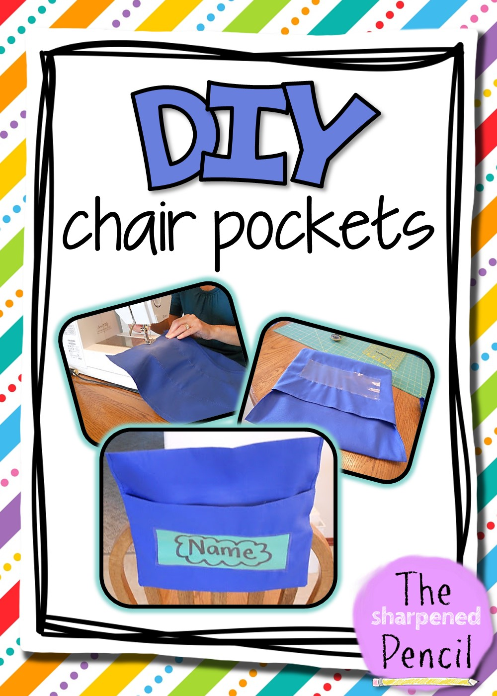 Chair Pockets. Happy Summer everyone!  sc 1 st  The Sharpened Pencil & The Sharpened Pencil: Chair Pockets