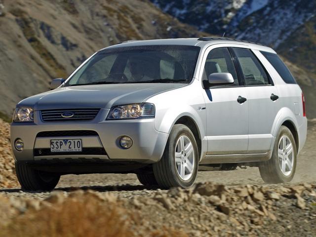 2012 Ford Territory Ghia