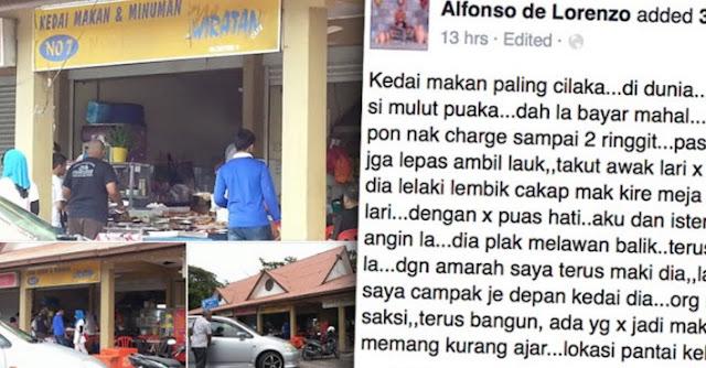 Kedai Makan No. 7 yang Celaka