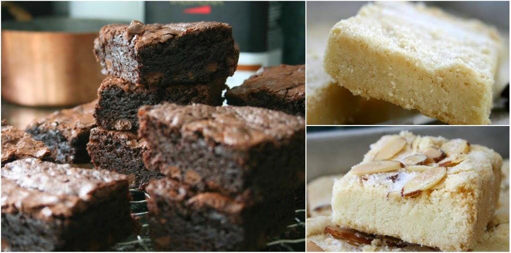 Your Choice! Brownies or Shortbread