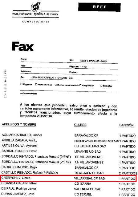 La circular que dice Florentino que no recibió