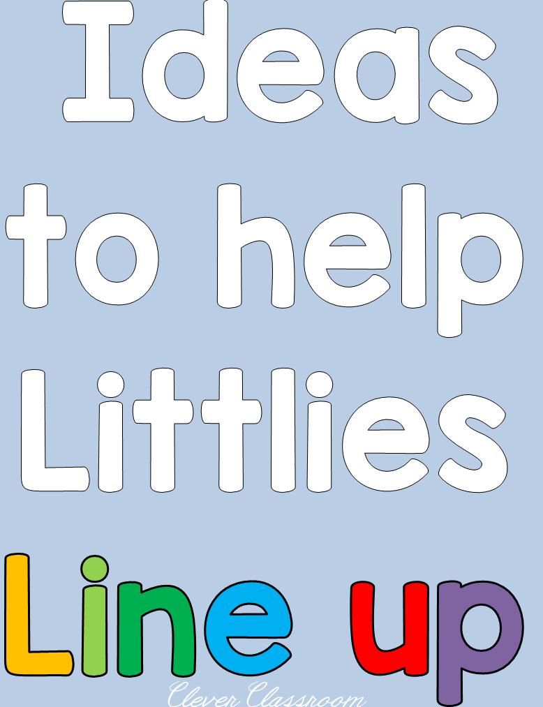 Classroom Line Up Ideas : Clever classroom ideas to help littlies line up