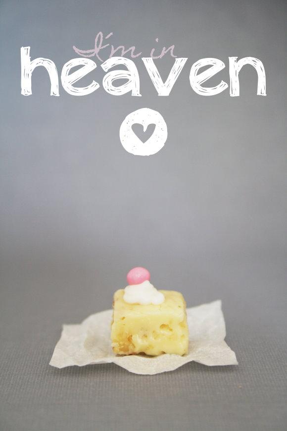 Rezept für himmlische weisse Pralinen zum Selberessen oder als Geschenkidee zu Weihnachten