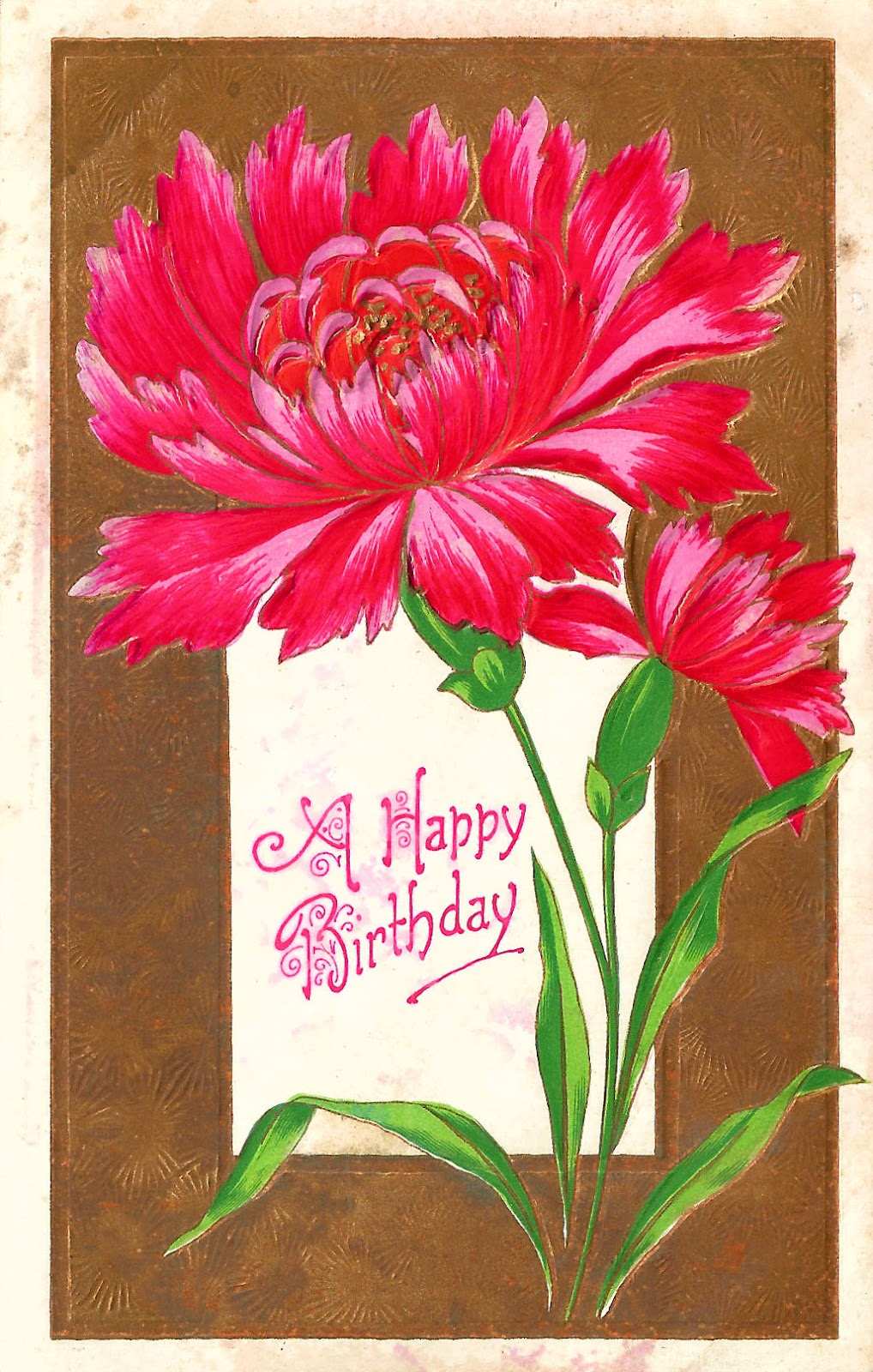 Antique images free vintage flower graphic pink carnation clip art free vintage flower graphic pink carnation clip art on happy birthday postcard izmirmasajfo Image collections