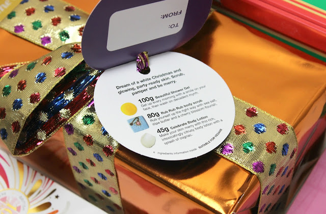 Smooth, soften and hydrate with Lush Merry and Bright Gift Set