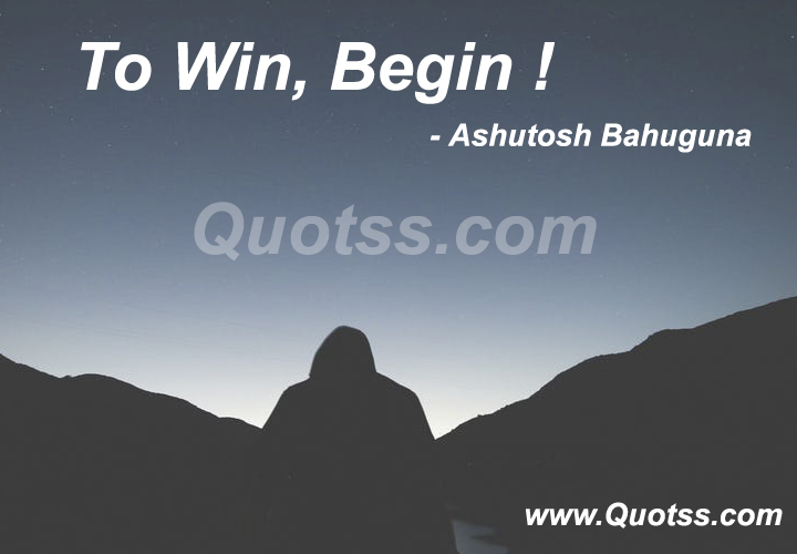 Ashutosh Bahuguna Quote on Quotss