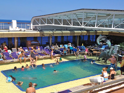 Family pool on Holland America's Noordam
