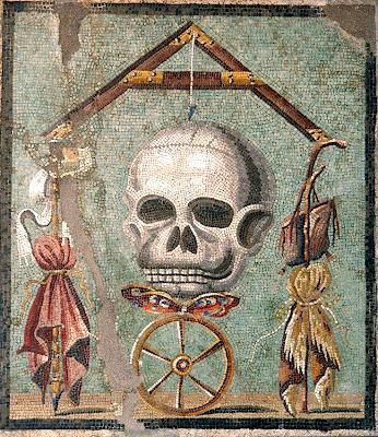 roman art  memento mori