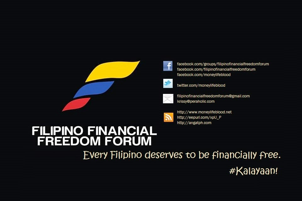 Join the discussion at Filipino Financial Freedom Forum