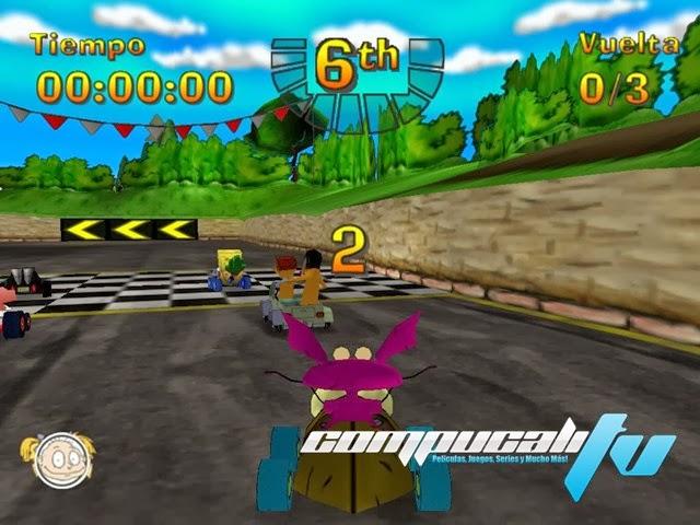 Nicktoons Racing PC Full Español