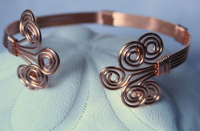 Anna (gracious): copper bracelet :: All Pretty Things