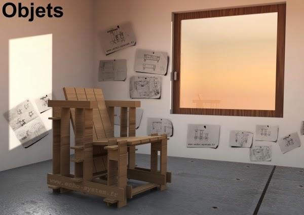 aqu podis ver el render original que ha llevado a crear este silln