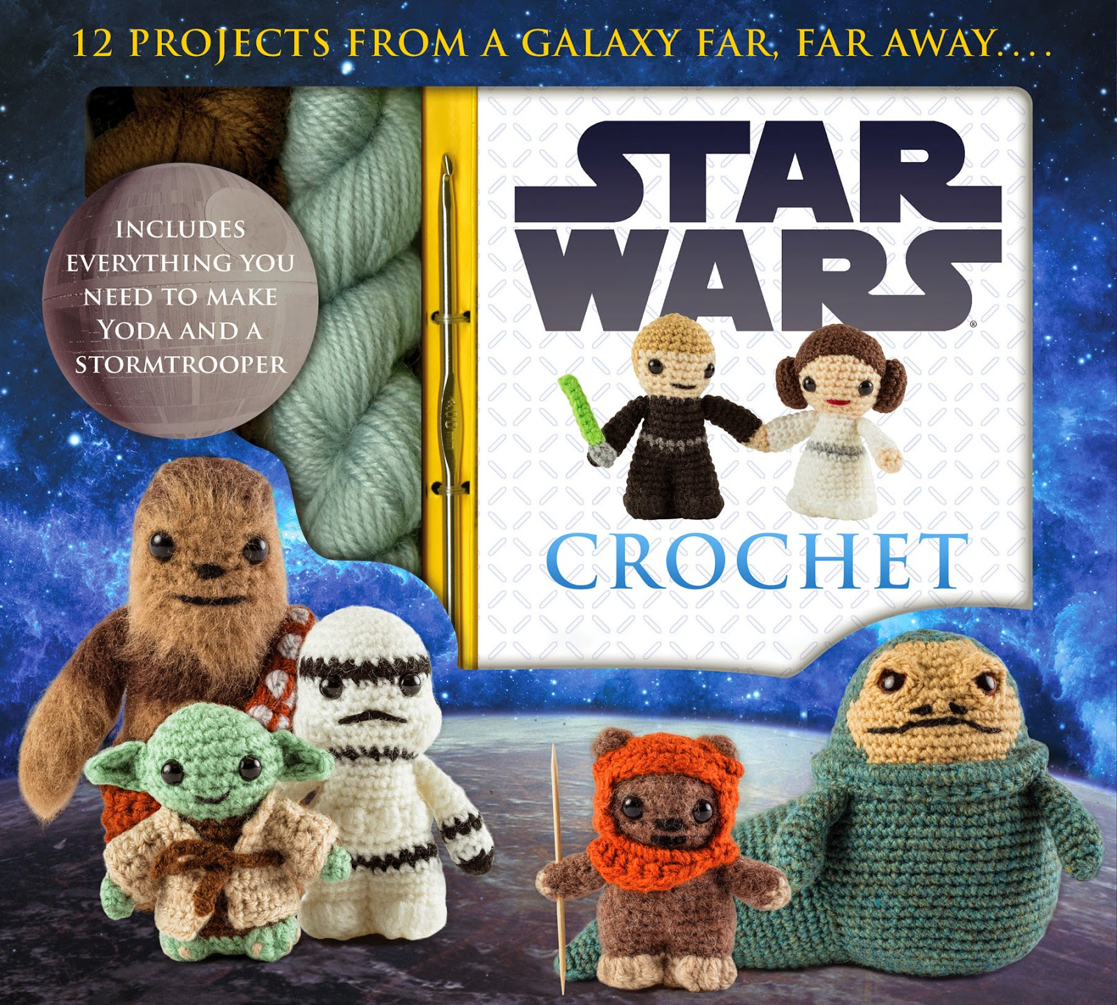 Lucyravenscar crochet creatures star wars crochet yarn used ive been getting a few requests recently asking about the yarn i used to make the 12 patterns in my star wars book so here are all the details bankloansurffo Images