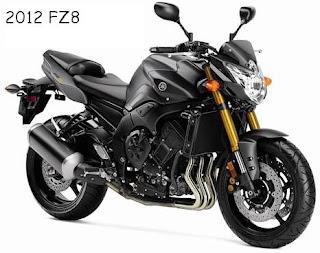 2012 Yamaha FZ8