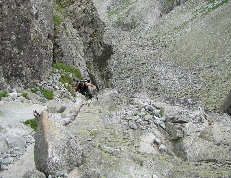 Wspinaczka na Kozie Czuby.