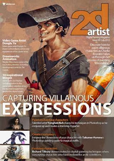 2DArtist Magazine Issue 91 July 2013