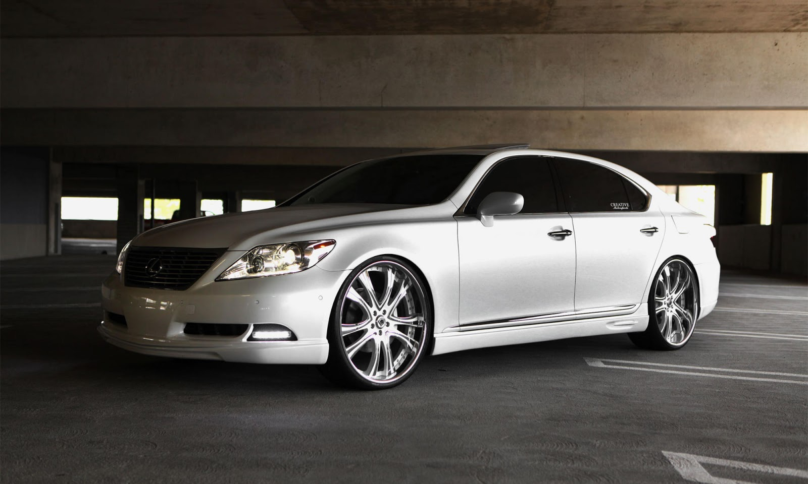 2010 lexus ls460 on 24 inch asanti af 159 rims only the cleanest