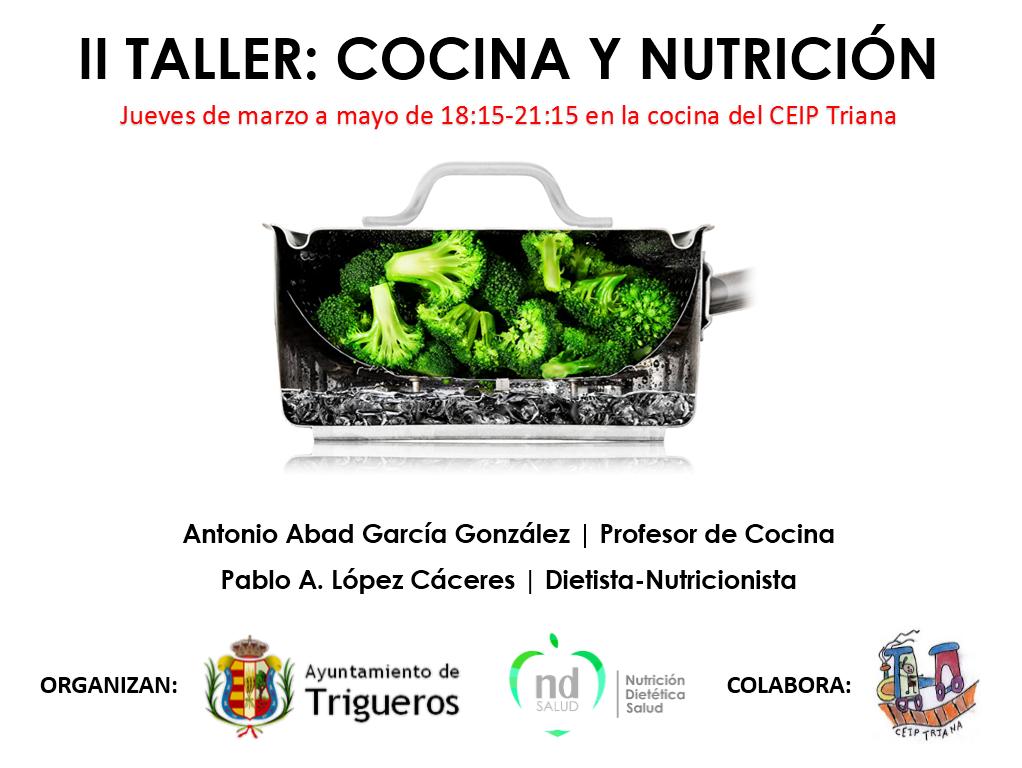 II Taller: Cocina y Nutrición