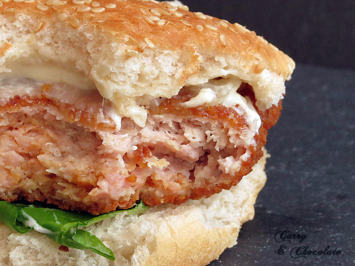 "Hamburguesas ""Crispy Chicken"" a mi estilo – Crispy chicken burgers"