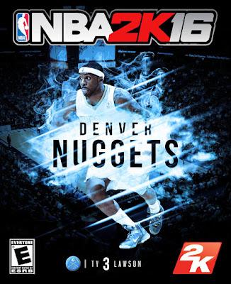NBA 2K16 Custom Covers - Denver Nuggets