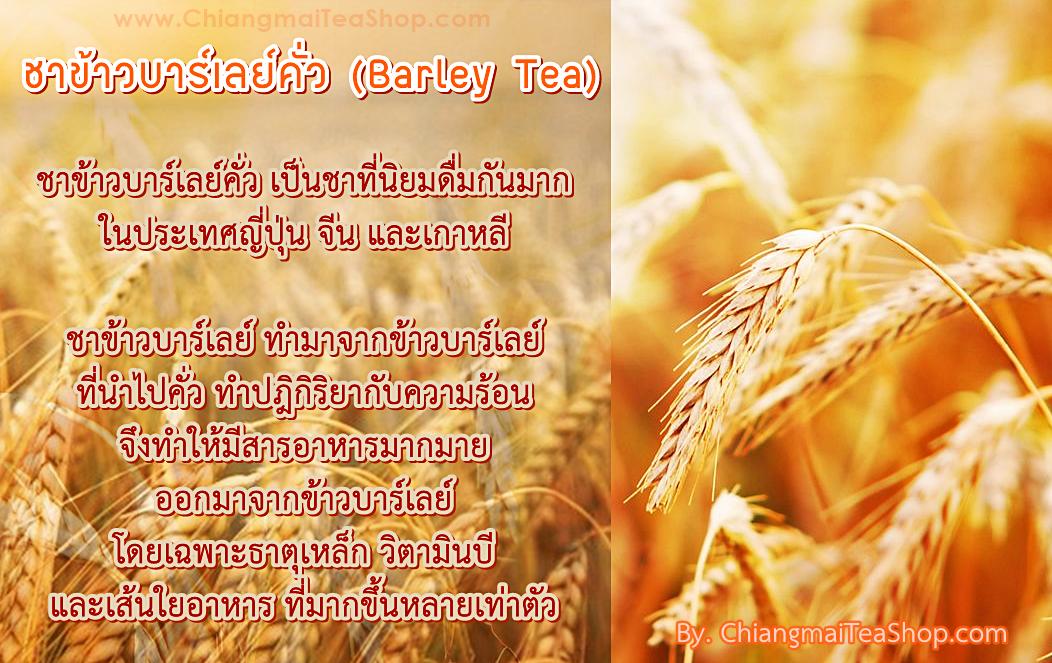 ชาข้าวบาร์เลย์ (Barley Tea)