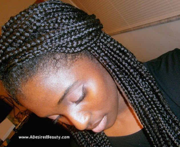 Crochet Box Braids Pre Braided : Pre-Twisted Crochet Braids with Hair