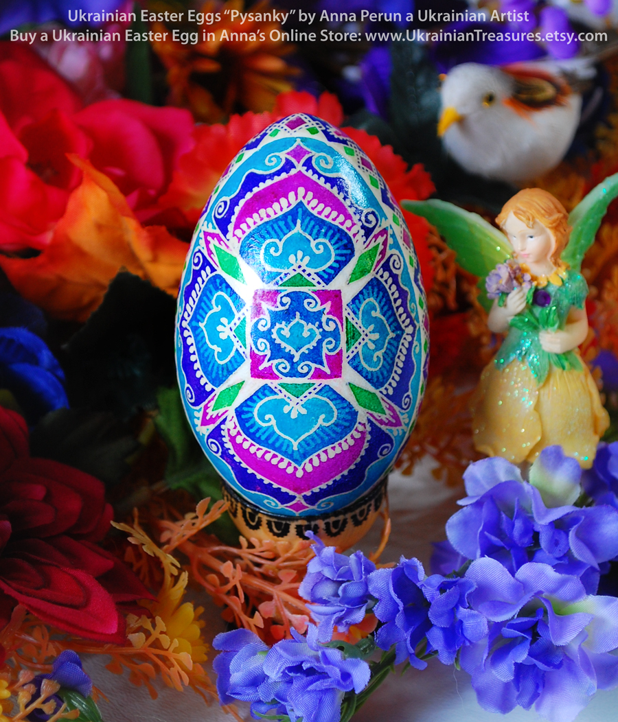 Ukrainian Easter Eggs Pysanky By Anna Perun Goose