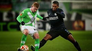 Résumé de match, Wolfsburg-Inter Milan (3-1)