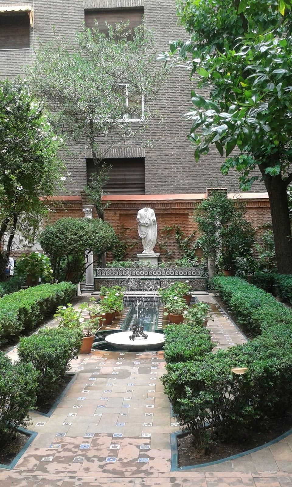 Madrid con encanto el jard n de la casa sorolla - Jardines con encanto ...