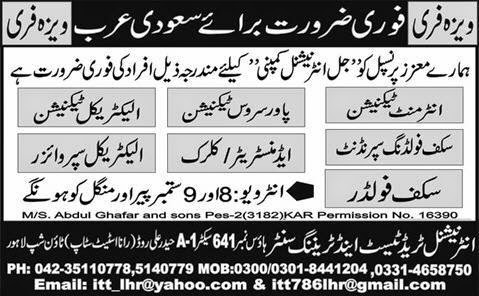Technician Jobs in Saudi Arabia Express Ads