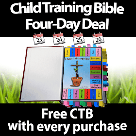 Child Training Bible Sale
